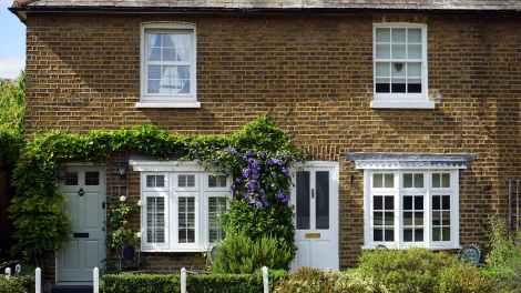 apartment architecture brick britain